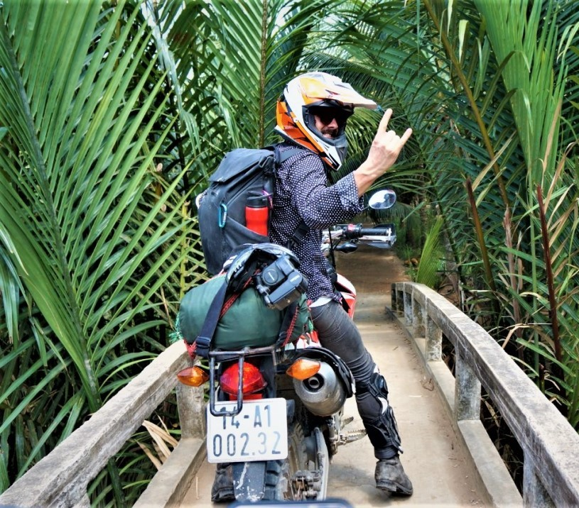 1 day motorcycle tour, charms of Nhon Thanh village