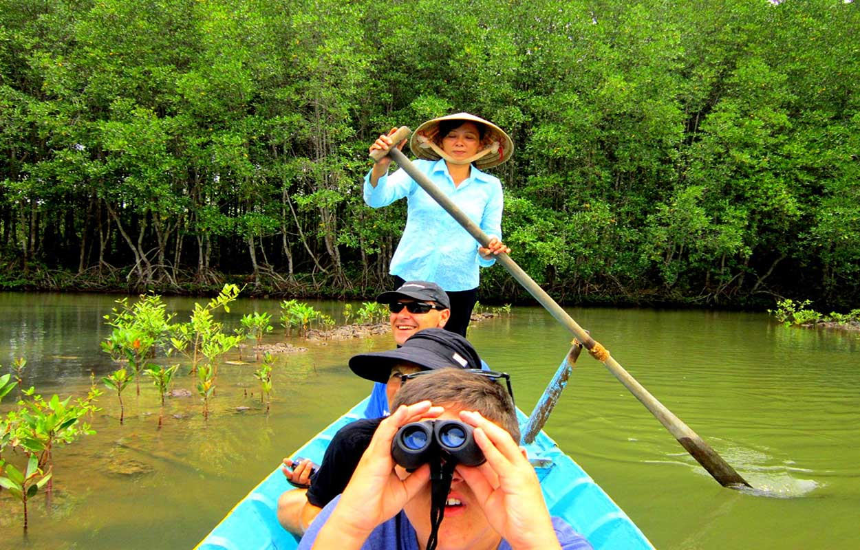1 day motorcycle tour from Ho Chi Minh, Can Gio mangrove forest explore