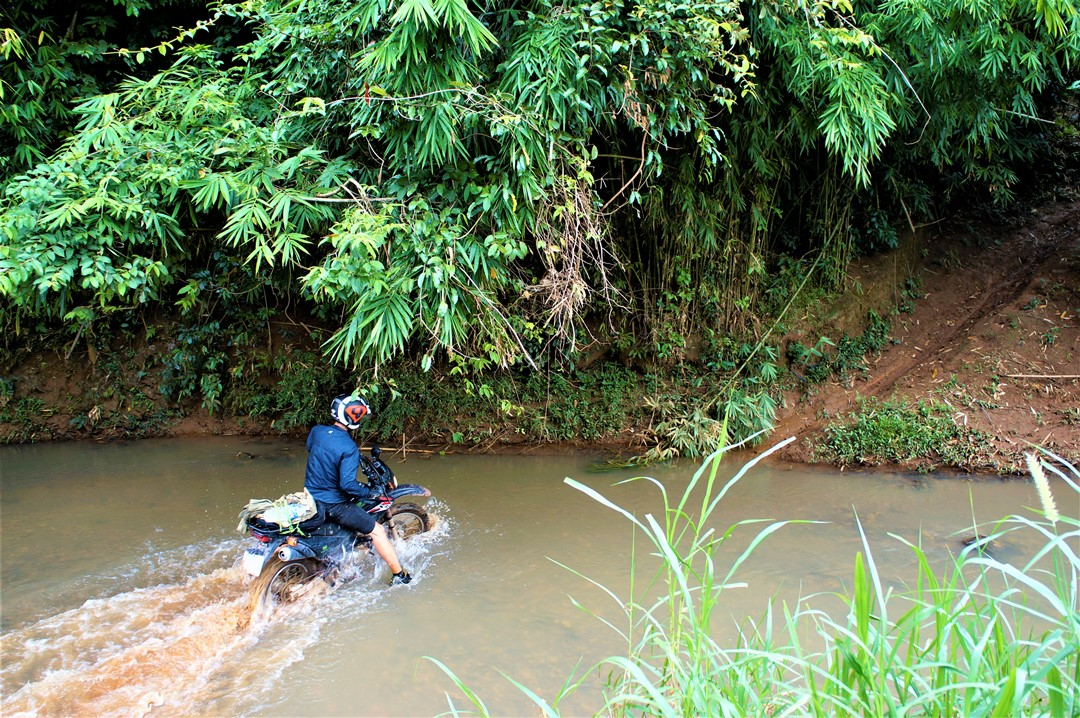 2 day dirt bike tour, Nam Cat Tien park and surrounds