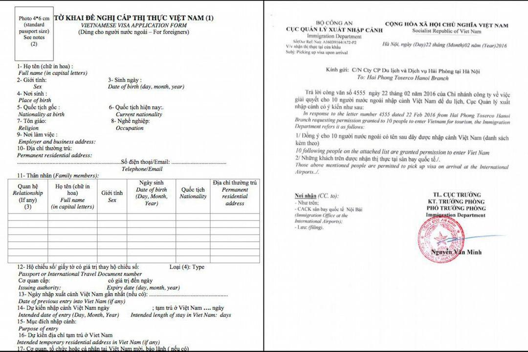 Vietnam visa application | Motorbike tours | Saigon Riders
