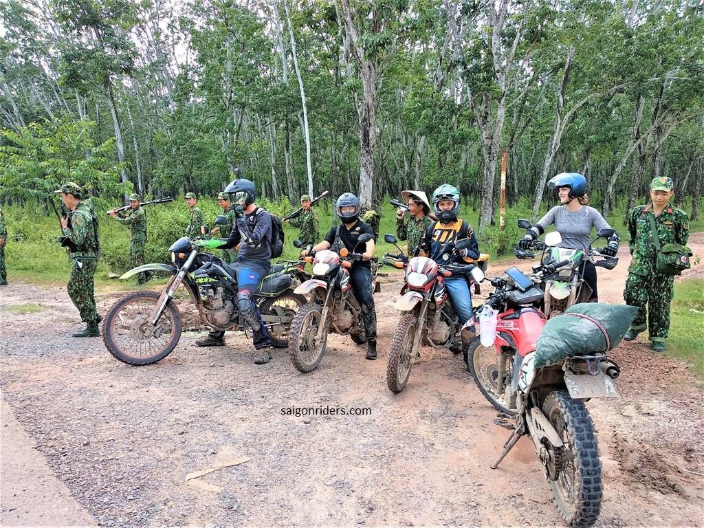 Saigon Surrounds by Dirt Bike