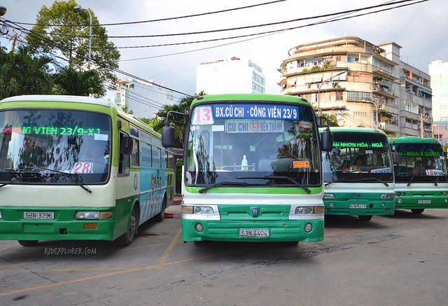 Cu Chi Bus Station | Saigon Riders