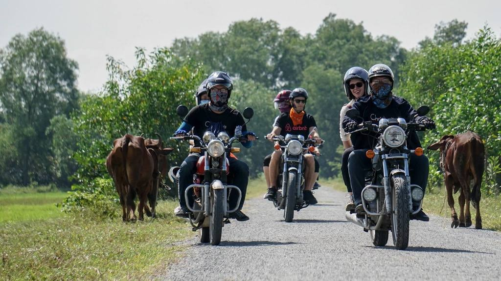 motorcycle tour to Cu Chi Tunnel | Saigon Riders