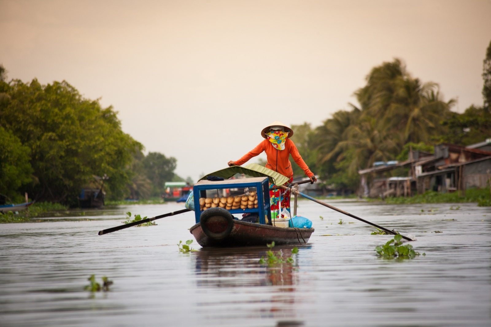 Mekong Delta where people, nature and food make a beautiful harmony