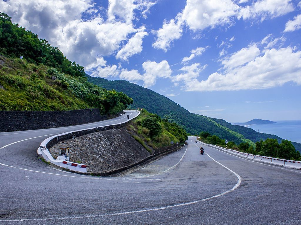 Hai Van Pass is stunning but dangerous if you are not an excellent rider