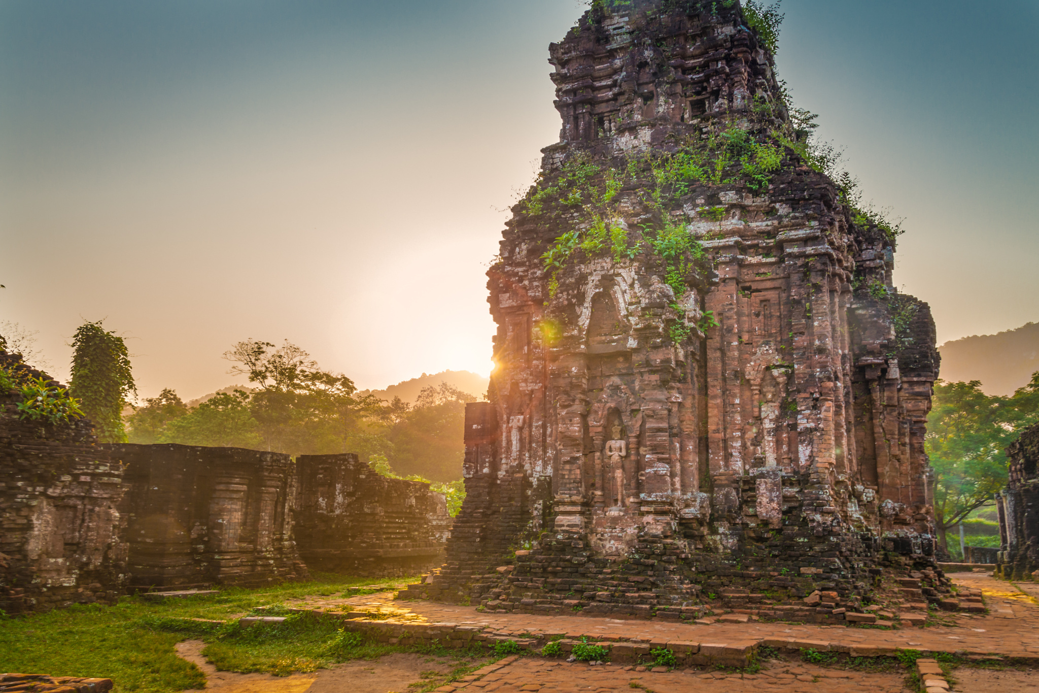My Son sanctuary is recognized by the UNESCO