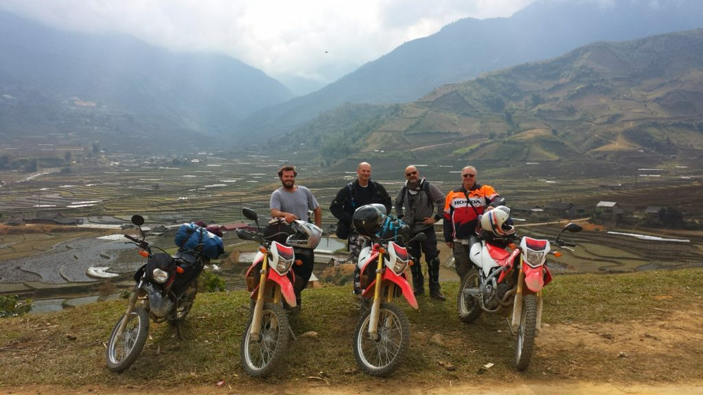 Adventurous tours with dirt bike are more and more preferable among foreign travelers