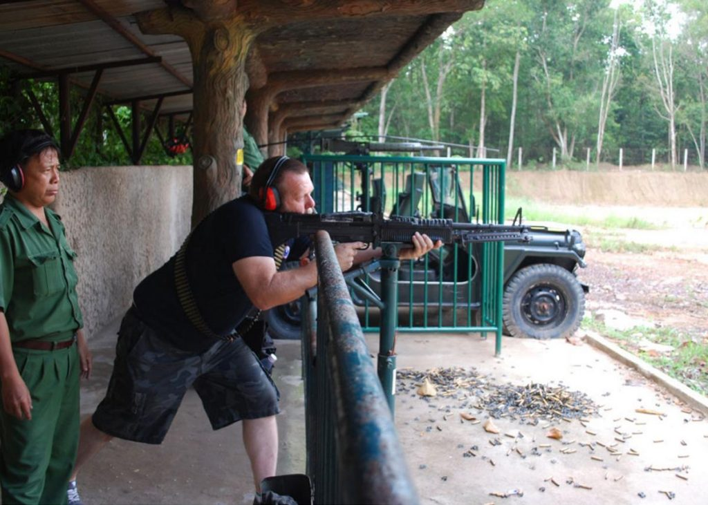 Shooting sport could be the best activity to experience in Cu Chi tunnels