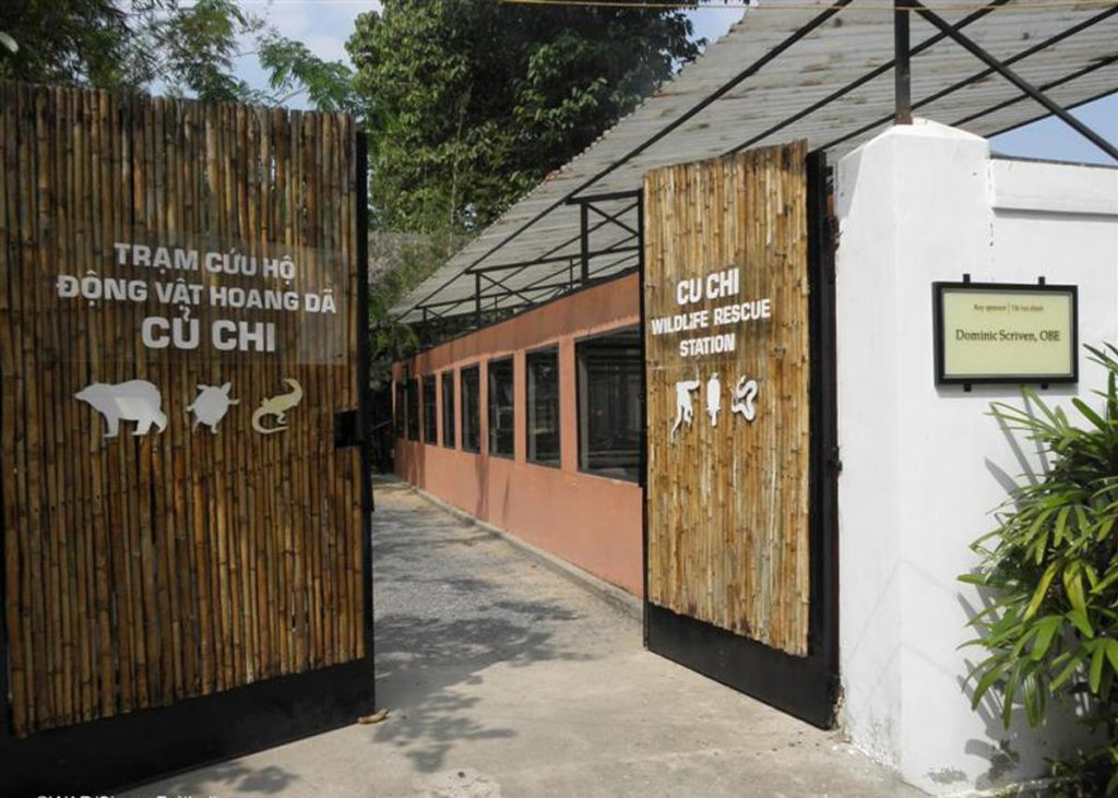 Visiting Cu Chi wildlife rescue station will add more to your knowledge of nature