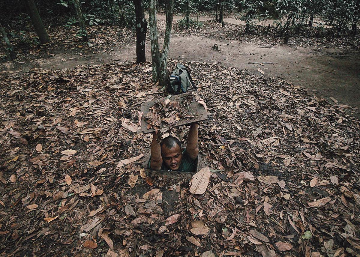 A day studying about Vietnam at Cu Chi tunnels