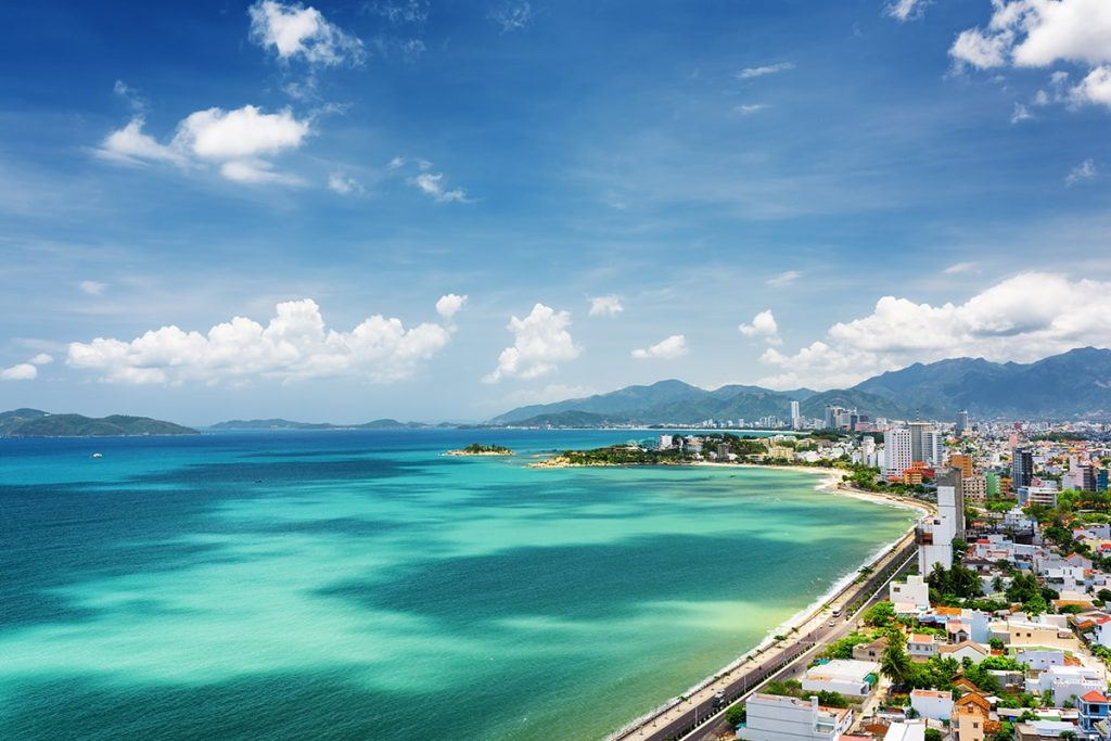Nha Trang is honored to possess this beautiful coastal line, clear sea from the nature