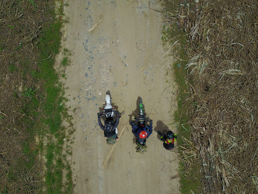 Riding a dirt bike may require a short training on transmission