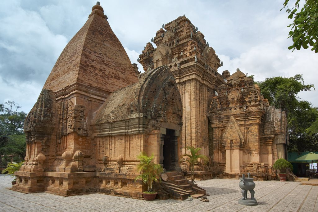 Well-reserved Po Nagar Cham Temple Towers are anciently attractive